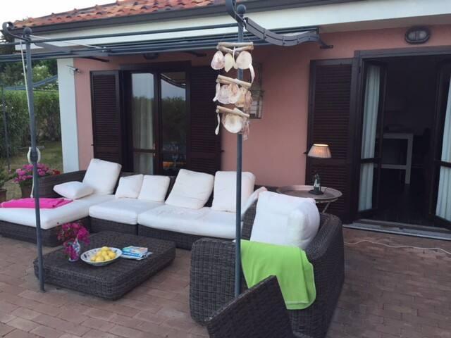 mooie villa met zeezicht