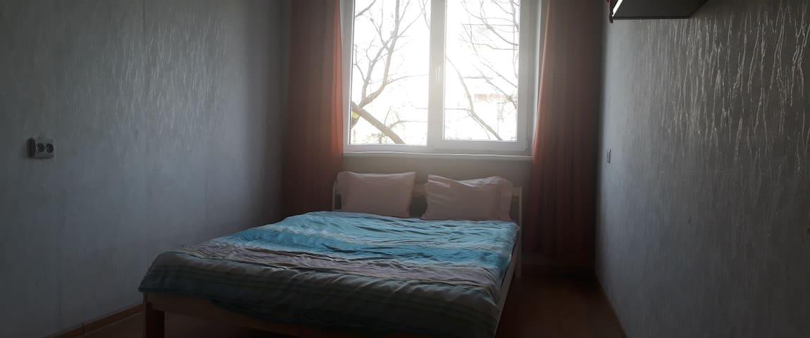 Vilnius visit bright bedroom
