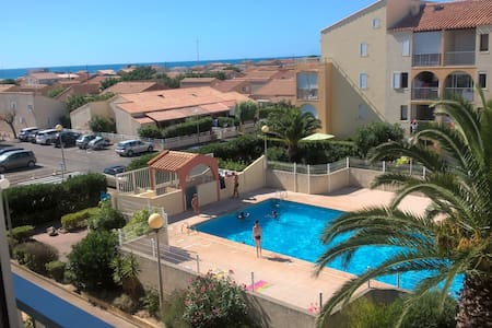 Appartement mer et piscine NARBONNE-PLAGE - Narbonne - Apartamento