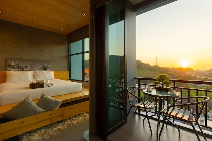 Sara's Nest - gorgeous Seaview apartments ❤️ 800m to Naiharn beach - B724