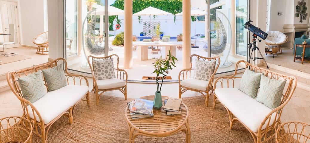 Luxury&Charming-Villa Los Hibiscus/Privat Bedroom2