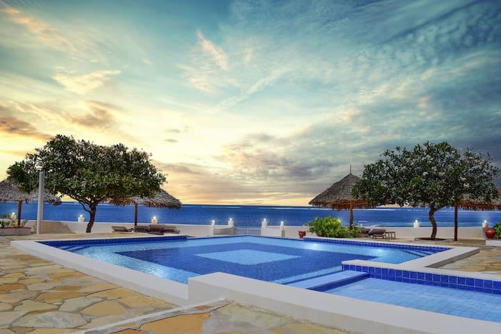 Classic White Sand Beach Apartment in Malindi, KE.