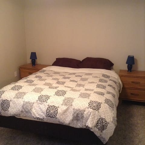 One bedroom furnished basement suite - Prince George