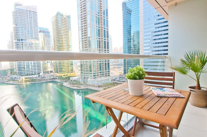 Great JLT Lake view, near Metro and Marina Beach!