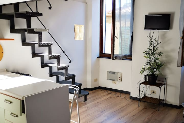 STUDIO IN THE CENTER SANREMO FOR 4 PEOPLE