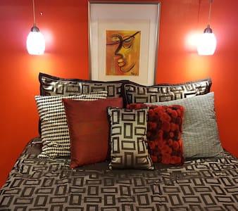 Tranquil  1 Bedrm Suite near Camden Yrds/UMMC - 巴尔的摩 - 独立屋