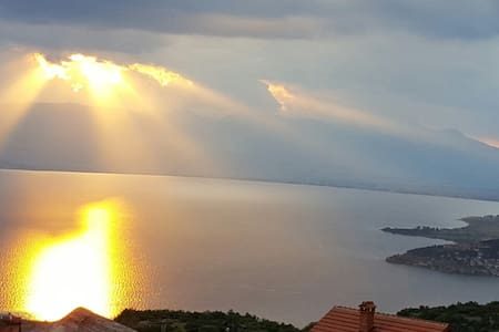 Magnificent view of Ohrid Velestovo - Ohrid - Villa