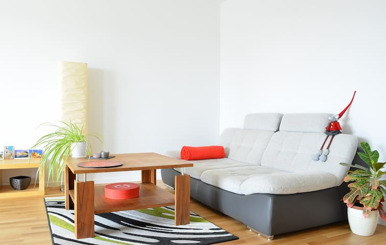 Read a book or surf internet on our lounge sofa