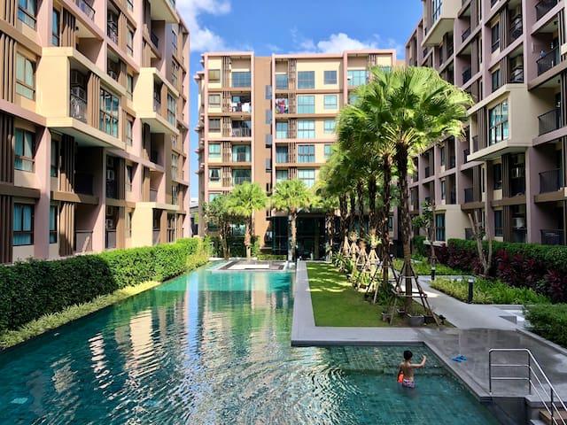 领袖国际学校+中央百货旁泳池公寓Next to Central&Headstart1BR Condo