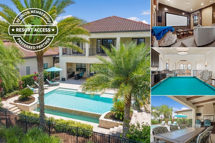 Sunset Court | Beautiful 5 Bed home | Sleeps 10 | Private Pool | 329