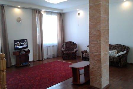 Unique apartment, center, two levels, chimney - Ulan-Ude