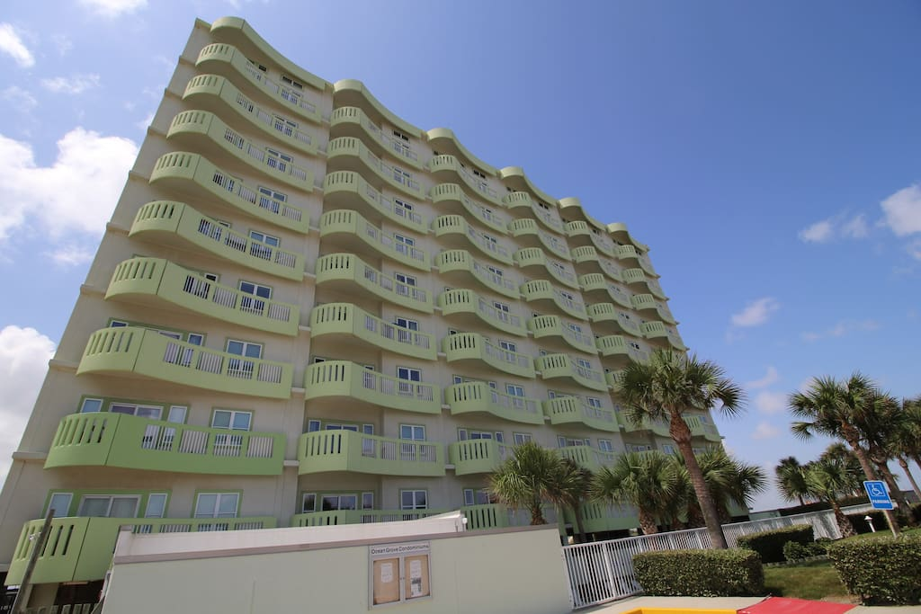 Ocean Grove was built in '06. Fabulous location & luxurious finishes & amenities