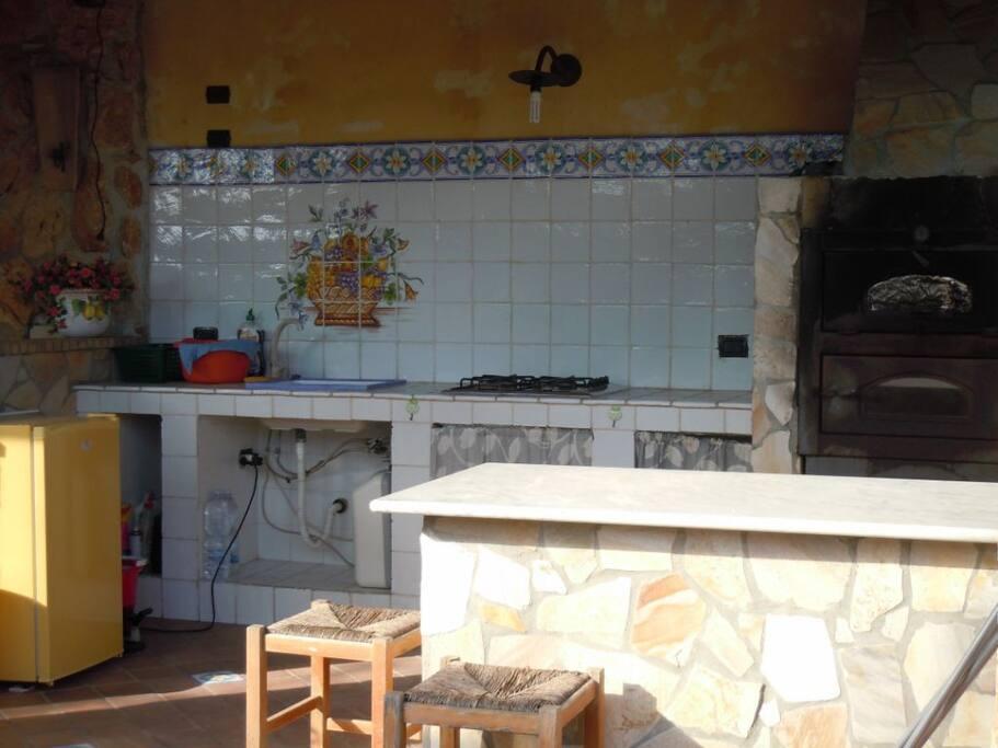 cucina esterna