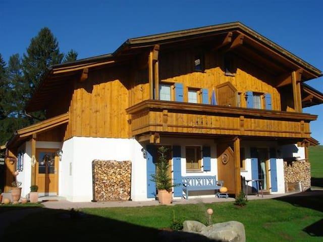 Meister´s Ferienhaus  m. Himmelbett - Tiere willk. - Lechbruck - Casa