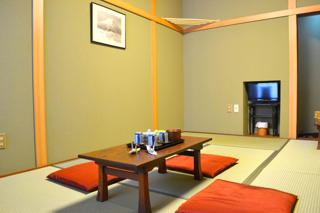 For group travel max 15per in central of kawagoe ryokan for Ryokan giappone