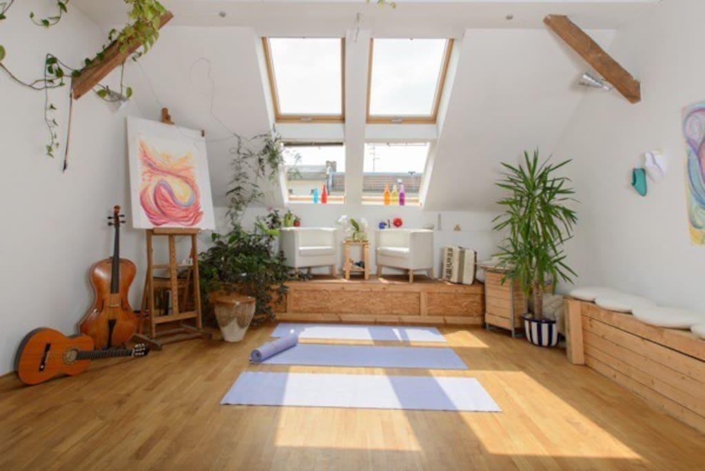 Dachatelier roof studio berlin lofts zur miete in for Wohnung idee