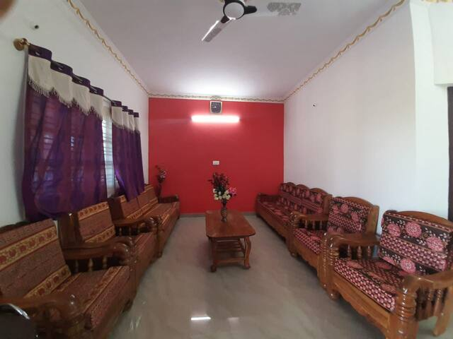 First floor living area with 2 set of sofas and T-pai