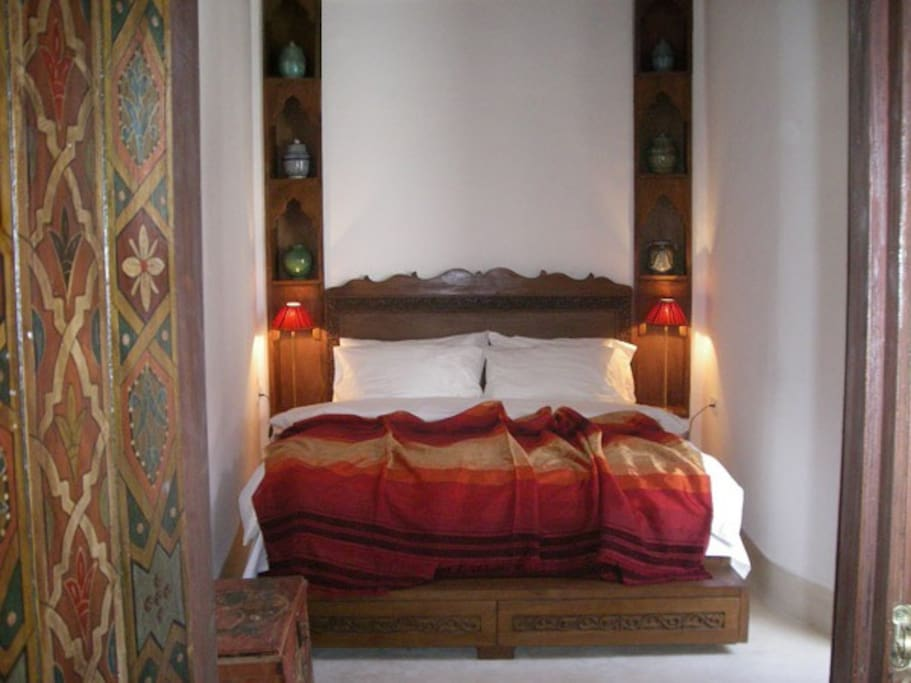 "The ""Sadarnapalus"" bedroom on the first floor"