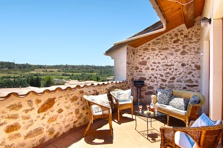 Sun terrace gt views 3dbl ensuite - Cazedarnes
