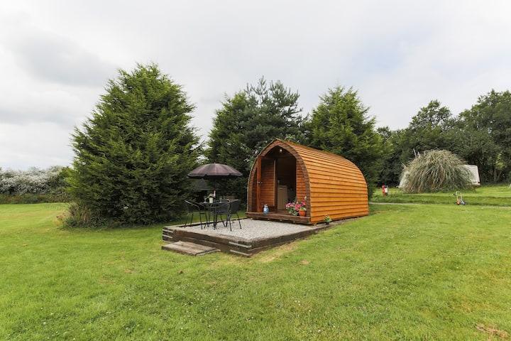 Wooden Pod at Coastal Valley Camp and Crafts