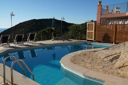 Casa del Sole - nature sea view with private pool - Colle D'orano