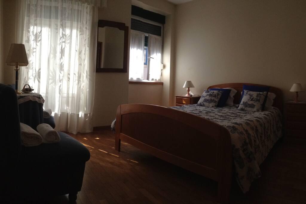 Suite 1 - cama de casal