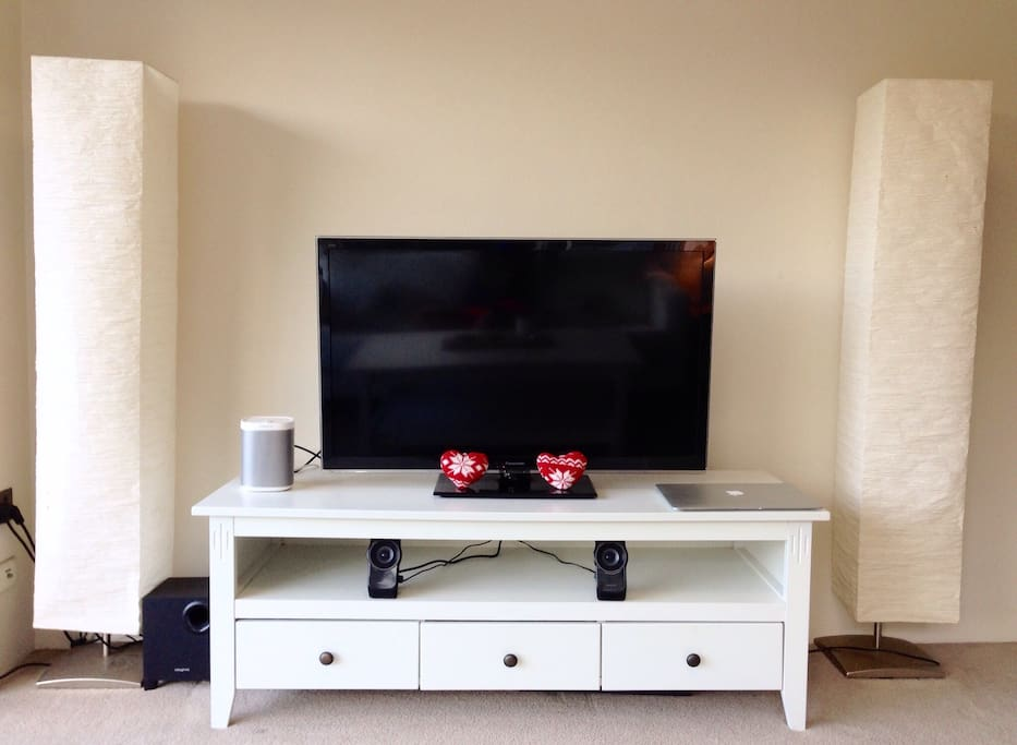 """34"""" Panasonic TV with HDMI cable"""