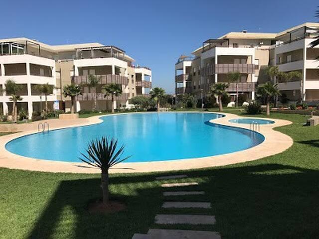 Très bel appartement de vacances à Bouznika plage