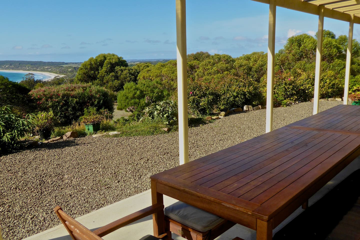 Enjoy your views from the 12 metre Entertainment Deck.
