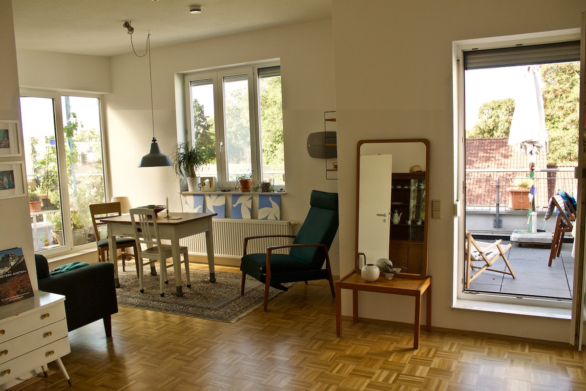 Sonnige Penthouse Wohnung Mit Dachterrasse   Apartments For Rent In Kassel,  Hessen, Germany