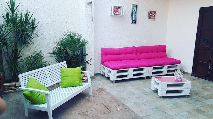 Marsala Stagnone Kite 's House