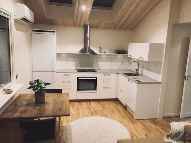 Nyrenoverad Lägenhet I naturskönt villaområde