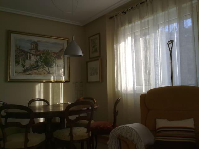 Acogedor apartamento sobre la ría - San Juan de la Arena - Daire