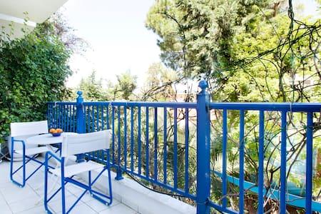 Garden view flat, WiFi & bicycles - Sikia
