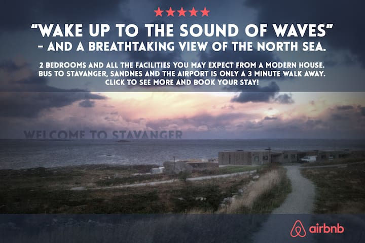 Wake up to the sound of waves - Stavanger