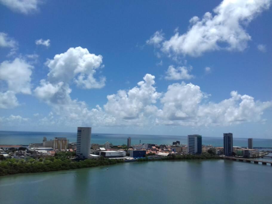 Apartamento com vista para o mais belo cartão postal do Recife.