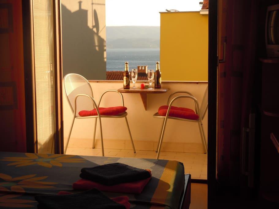 Zimmer mit Loggia