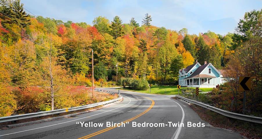 The Beautiful White Mts-Twin Beds. - Benton - Huis