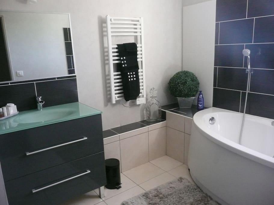 salle de bain et WC privés