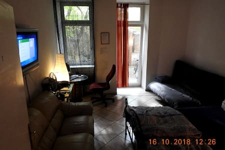 Room w.backyard, TV, PC, XBOX, WLAN, FREE Parking