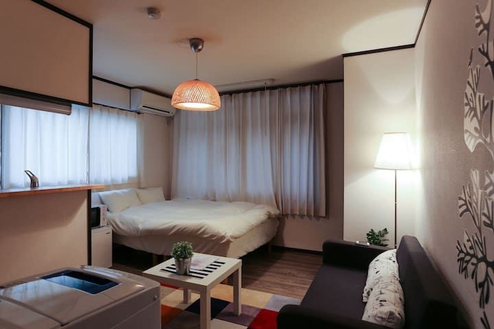 2.Shijo 3min! Kyoto 4min!3ppl!mWiFi - Nakagyo Ward, Kyoto - Apartment