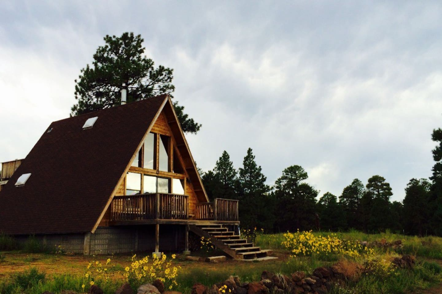 cabin log watch n flagstaff cabins az for rent youtube thundercliffe sale way in