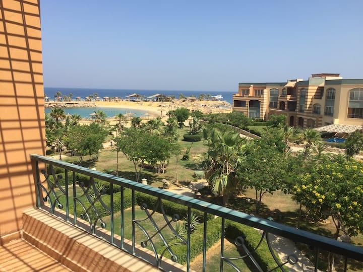 Modern Apart. Beach&Pool Sokhna Blumar Wadi Eldom