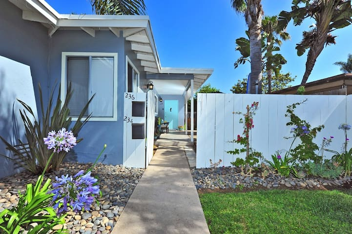Seahorse Cottage by the beach! - Del Mar