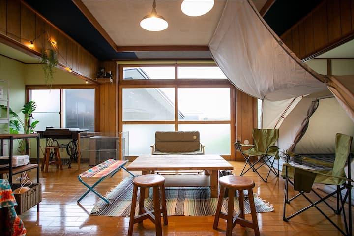 Camp inn 皆家 『函館の海と山と空を楽しむ貸し切りアウトドアハウス』