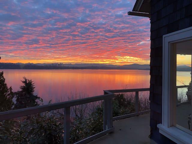 Gorgeous Seattle sunrise