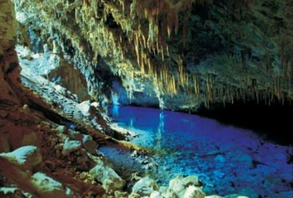 Gruta do Lago Azul, em Bonito/MS