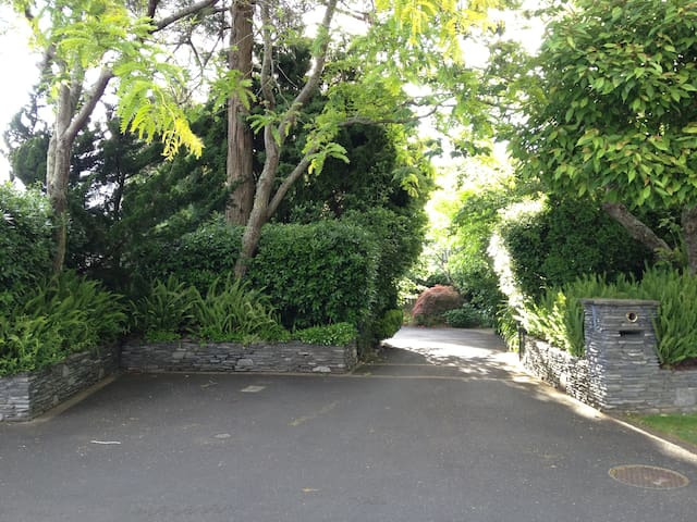 Entry to property - gate access by remote