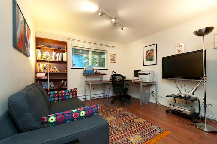 Central, Quiet, Private & Complete - Vancouver - Apartemen