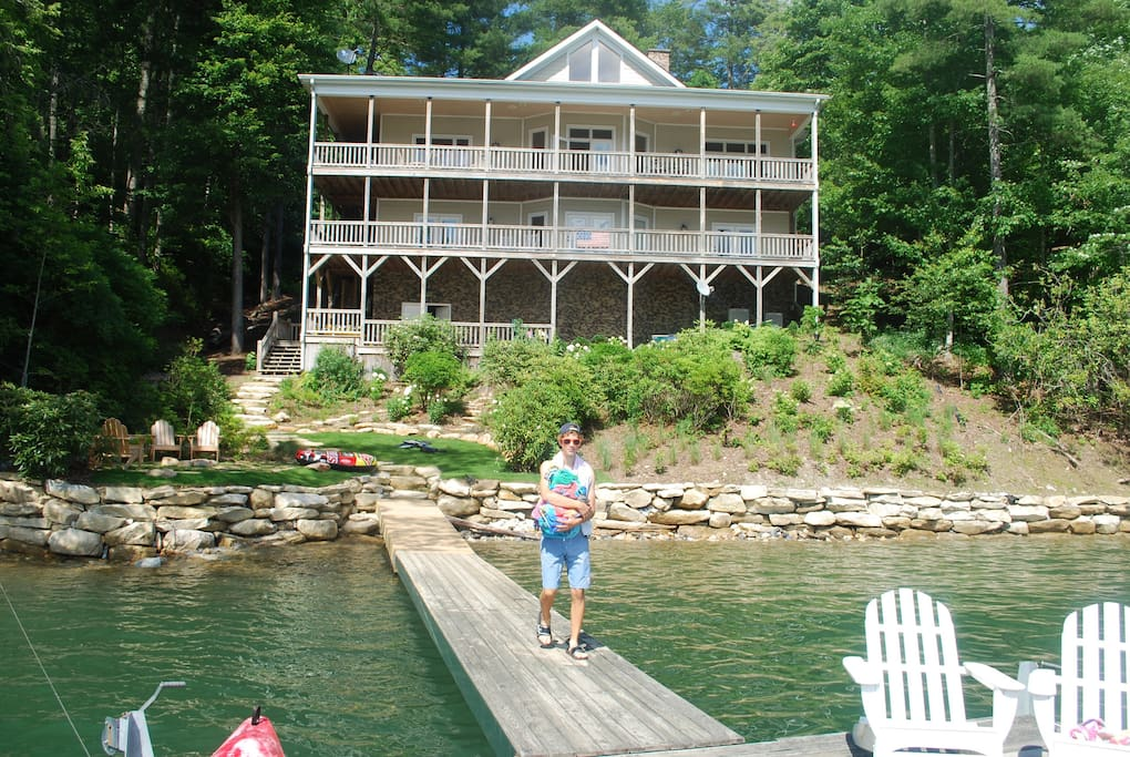 Nantahala is an outdoorsman's paradise with whitewater rafting, kayaking, canoeing, camping, mountain hiking, and biking.